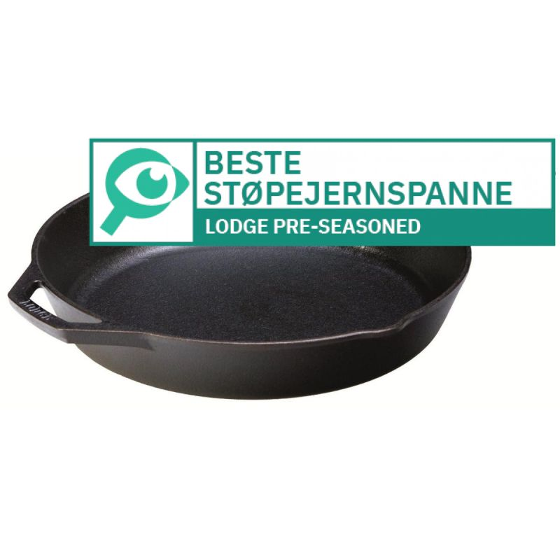 Lodge Pre-Seasoned Sauteuse 								 									- Beste støpejernspanne
