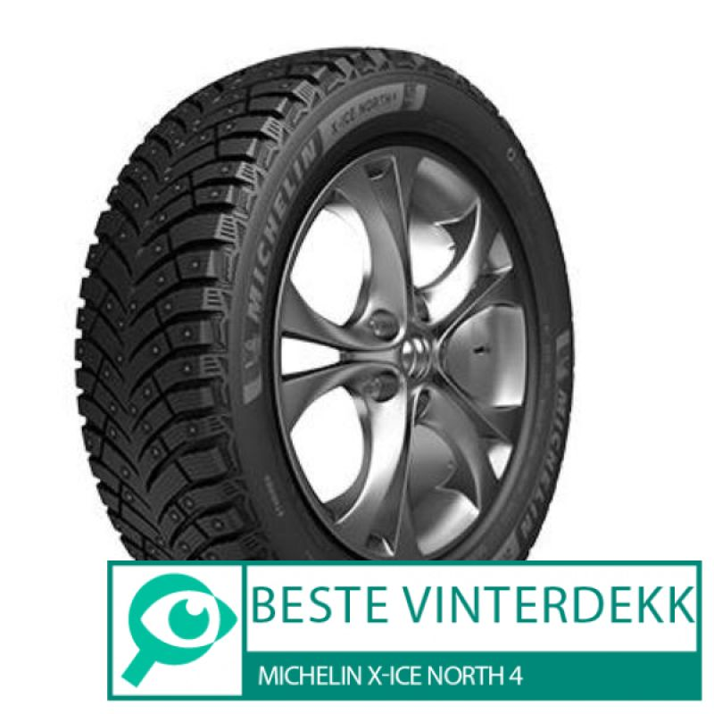 Michelin X-Ice North 4 								 									- Beste vinterdekk i test 2019