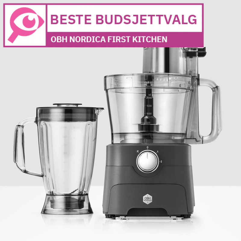 OBH Nordica First Kitchen 6795 								 									- Beste budsjettfoodprosessoren